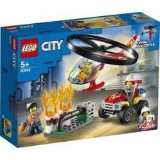 Конструктор LEGO CITY Fire Пожарный спасательный вертолёт