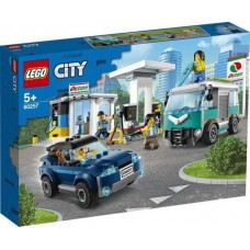 Конструктор LEGO CITY Turbo Wheels Станция технического обслуживания