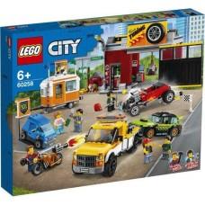 Конструктор LEGO CITY Turbo Wheels Тюнинг-мастерская
