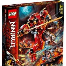 Конструктор LEGO NINJAGO Каменный робот огня