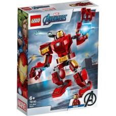 Конструктор LEGO SUPER HEROES Железный Человек: трасформер