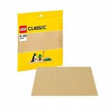Пластина строительная LEGO желтого цвета (LEGO, 10699-L)