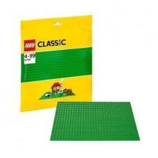 Пластина строительная LEGO зеленого цвета (LEGO, 10700-L)