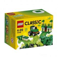 Конструктор LEGO CLASSIC Зелёный набор для творчества (LEGO, 10708-L)