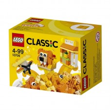 Конструктор LEGO CLASSIC Оранжевый набор для творчества (LEGO, 10709-L)