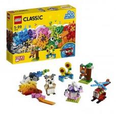 Конструктор LEGO CLASSIC Кубики и механизмы