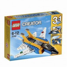Конструктор LEGO CREATOR Реактивный самолет (LEGO, 31042-L)