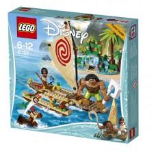 Конструктор LEGO DISNEY PRINCESS Путешествие Моаны через океан (LEGO, 41150-L)