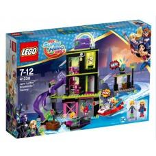 """Конструктор LEGO SUPER HERO GIRLS """"Фабрика Криптомитов Лены Лютор"""""""