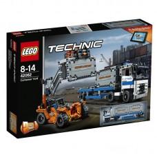 Конструктор LEGO TECHNIC Контейнерный терминал (LEGO, 42062-L)