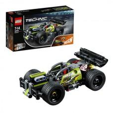 Конструктор LEGO TECHNIC Зеленый гоночный автомобиль