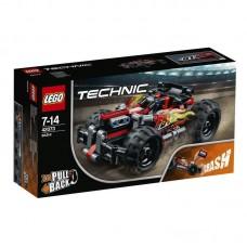 Конструктор LEGO TECHNIC Красный гоночный автомобиль
