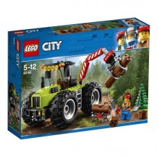 Конструктор LEGO CITY Лесной трактор City Great Vehicles