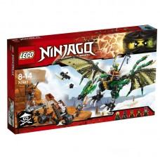 Конструктор LEGO NINJAGO Зелёный Дракон (LEGO, 70593-L)