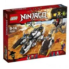 Конструктор LEGO NINJAGO Внедорожник с суперсистемой маскировки (LEGO, 70595-L)