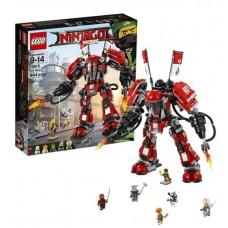 Конструктор LEGO NINJAGO Огненный робот Кая (LEGO, 70615-L)