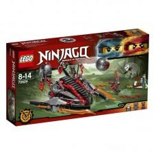 Конструктор LEGO NINJAGO Алый захватчик (LEGO, 70624-L)