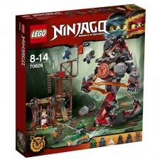Конструктор LEGO NINJAGO Железные удары судьбы (LEGO, 70626-L)