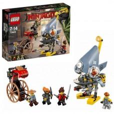 Конструктор LEGO NINJAGO Нападение пираньи