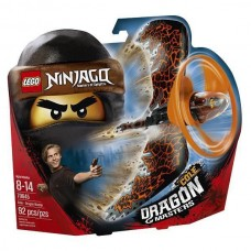 Конструктор LEGO NINJAGO Коул — Мастер дракона