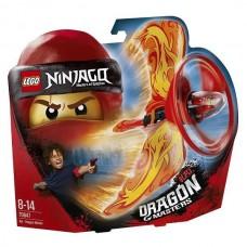 Конструктор LEGO NINJAGO Кай — Мастер дракона