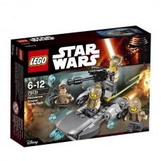 Конструктор LEGO STAR WARS Боевой набор Сопротивления™ (LEGO, 75131-L)