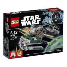 Конструктор LEGO STAR WARS Звёздный истребитель Йоды™ (LEGO, 75168-L)