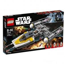 Конструктор LEGO STAR WARS Звёздный истребитель типа Y (LEGO, 75172-L)
