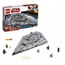 Конструктор LEGO STAR WARS Звездный разрушитель первого ордена (LEGO, 75190-L)