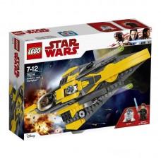Конструктор LEGO STAR WARS Звёздный истребитель Энакина