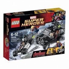 Конструктор LEGO SUPER HEROES Гидра против Мстителей™ (LEGO, 76030-L-no)