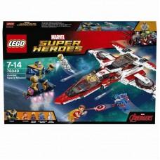 Конструктор LEGO SUPER HEROES Реактивный самолёт Мстителей: Космическая миссия™ (LEGO, 76049-L-no)