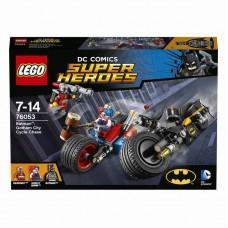 Конструктор LEGO SUPER HEROES Бэтман: Погоня на мотоциклах по Готэм-сити (LEGO, 76053-L)