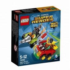 Конструктор LEGO SUPER HEROES Робин против Бэйна™ (LEGO, 76062-L-no)