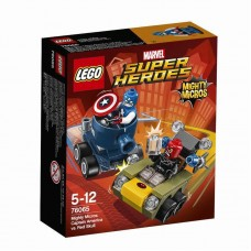 Конструктор LEGO SUPER HEROES Капитан Америка против Красного Черепа™ (LEGO, 76065-L-no)