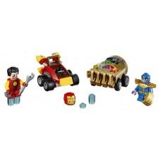 Конструктор LEGO SUPER HEROES Mighty Micros: Железный человек против Таноса (LEGO, 76072-L)