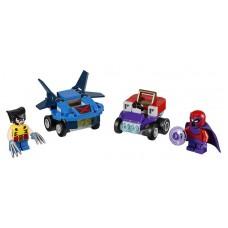 Конструктор LEGO SUPER HEROES Mighty Micros: Росомаха против Магнето (LEGO, 76073-L)