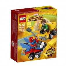 Конструктор LEGO SUPER HERO Mighty Micros: Человек-паук против Песочного человека