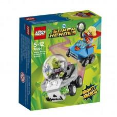 Конструктор LEGO SUPER HERO Mighty Micros: Супергёрл против Брейниака