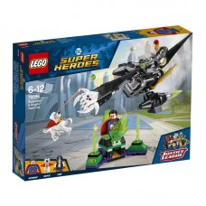 Конструктор LEGO SUPER HERO Супермен и Крипто объединяют усилия