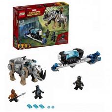 Конструктор LEGO SUPER HERO Поединок с Носорогом