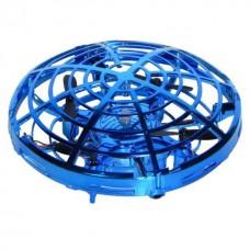 Квадрокоптер НЛО на сенсорном управлении (синий)