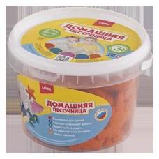 Песочница домашняя Оранжевый песок 0,7 кг (ЛОРИ, Дп-006)