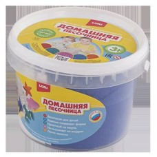 Набор Домашняя песочница Синий песок 0,7 кг (ЛОРИ, Дп-009)
