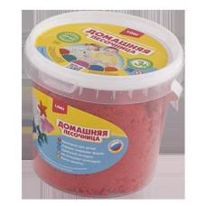 Песочница домашняя Красный песок 1 кг (ЛОРИ, Дп-013)