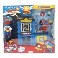 SuperZings. Игровой набор. Полицейский участок