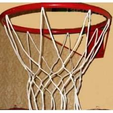 Корзина баскетбольная №5, d 380мм, с упором и сеткой КБ51 (Россия) (Максимов ЧП, КБ-02)