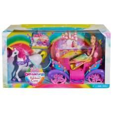 Barbie.Кукла Барби и Радужная карета (Mattel. Barbie, DPY38)
