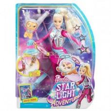 Barbie. Барби с летающим котом Попкорном (Mattel. Barbie, DWD24)