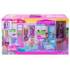 Barbie® Раскладной домик